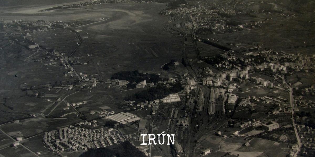2 irun fotografía aérea gipuzkoa zerutik pioneros