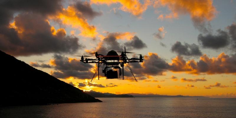 zerutik fotografía aérea gipuzkoa pioneros con dron